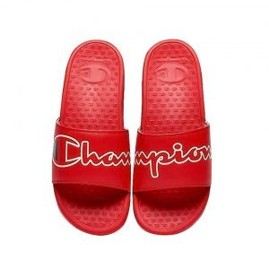 Champion Split Script Slide | The Sneaker House | Dép Chính Hãng |